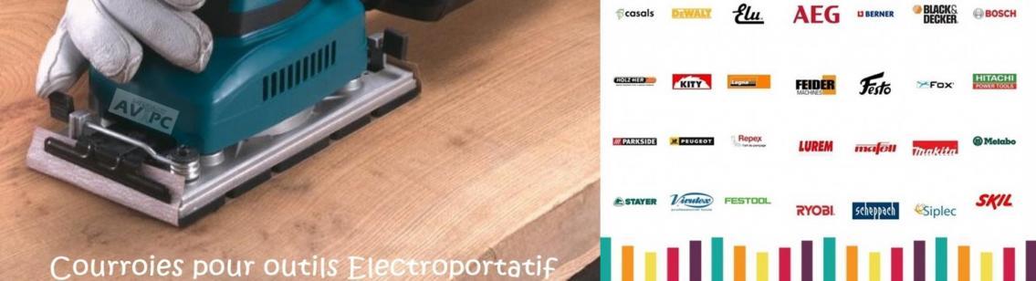 Avtpc vente courroies electroportatif horz 1