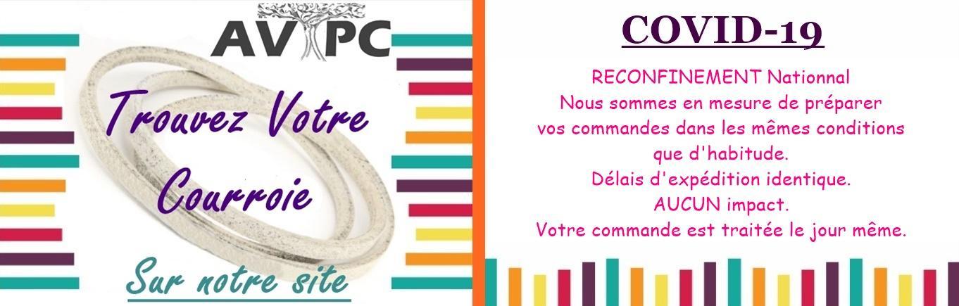 AVTPC Courroie VAR 83
