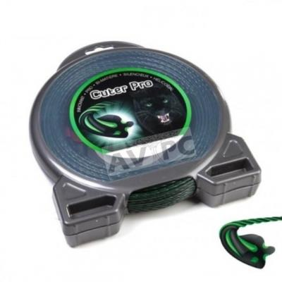 Fil Cuter' Pro pour Débroussailleuse - Ø2.4mm - Hélicoïdal - 43m