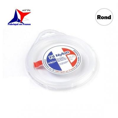 Fil Nylon pour Débroussailleuse - Ø1.6mm - ROND - 15m