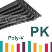 Poly v courroie pk