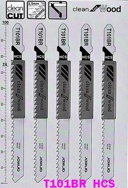 Lames de scie sauteuse, T101BR, inversée