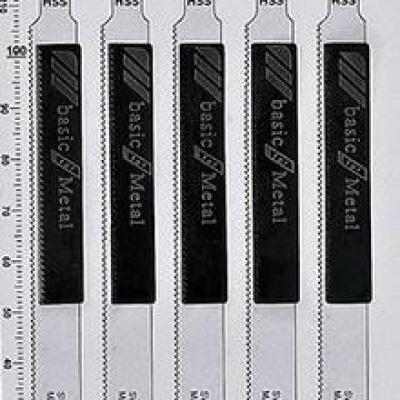 Lames de scie sauteuse, T318A pour Métal